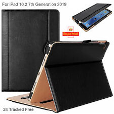 """Apple 2020-19 Case iPad 8th,7th Gen 10.2"""" Leather Smart Luxury Stand Flip Cover"""