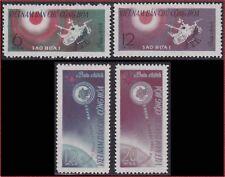 VIETNAM du NORD N°321/324** Espace, 1963 North Vietnam 251-254 Space MNH