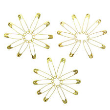 1000pcs Needles Safety Pins Gold Assorted Size Small Medium Large Sewing Craft