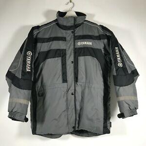 Yamaha Snowmobile Technical Jacket Thermolite Plus Grey Black Reflective Sz M