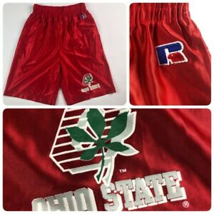 New Russell Vintage Mens Size Small Ohio State Buckeyes Shorts Vtg Nwot