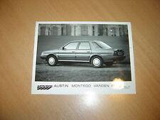 PHOTO DE PRESSE ( PRESS PHOTO )  Austin Rover Montego Vanden Plas  R0098