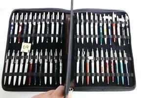 VTG Parker Jotter Pen Lot Charity Metal Body Enamel Window Sm Companies DS63 (9)