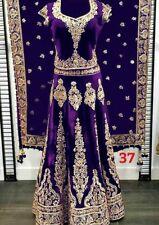 Asian Wedding Wear Lehenga Designer Indian Latest Ghagra Choli Lengha Blouse Set