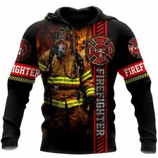 NEW Brave Firefighter 3D Hoodie Gift For Dad, Husband Best Price US Size