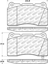 StopTech 305.10010 Street Select Brake Pads