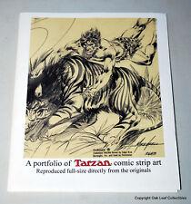 PORTFOLIO OF TARZAN COMIC STRIP ART 2008 Hal Foster Burne Hogarth 25 plates. Comic Art