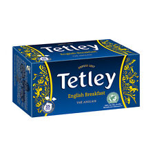 TETLEY English Breakfast Black Tea 25 Teabags 50g