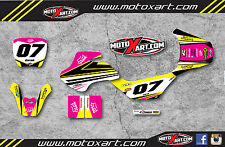Full Custom Graphic Kit Suzuki JR 50 STRIKE GIRL STYLE stickers decals graphics