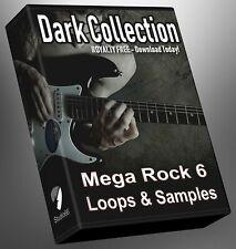 Rock Loops Dark Collection Part 6 Cubase Reason Presonus Ableton Logic FL Studio