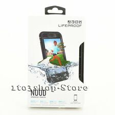 LifeProof nuud Waterproof Water Dust Snow Proof Case Cover for iPhone 7 Black