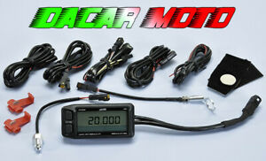 Tachometer RPM+2 Temperature POLINI Aprilia Red Rose 125