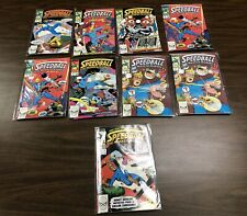 Speedball The Masked Marvel Comic Book Issues: 2, 3, 4, 5 (x2), 7, 9 (x2) 10 Lot