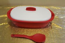 New UNIQUE Tupperware Legacy Rice and Soup Server Bowl with Scoop 1.7L