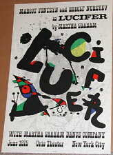 Joan Miro, Lucifer Original Lithographic Poster