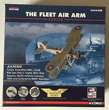 Corgi Aviation Archive AA36309 1:72 Fairey Swordfish 836 ESC Rapana Limited Ed.