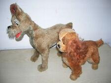 Große Susi & Strolch Hunde Walt Disney von Schuco Bigo Bello Tiere 50/60er Jahre
