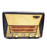 Needs Repair VTG Tube Radio Grundig Majestic Great Britain Bakelite Magic Eye