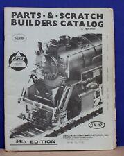 Original AHM Rivarossi HO Parts Catalog 1974 w exploded Loco diagrams