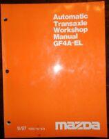 Mazda Automatic Transaxle Workshop Manual GF4A-EL 9/97