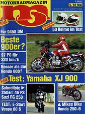 mo 5/83 1983 Harley-Davidson XR1000 Suzuki GSX 750 S Katana Vespa PK 80 Elestart