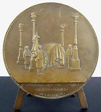 Médaille vues des funérailles du Maréchal Ferdinand Foch 1929 Prud'homme Medal
