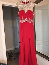 Red Prom Dress Size 2 Cinderella Brand