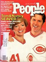 Tom Seaver Cincinnati Reds People Magazine July 25, 1977 Issue