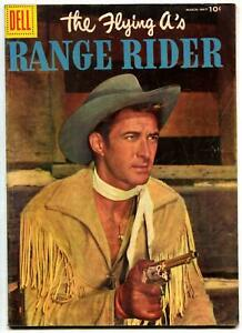 The Flying A's Range Rider #13 1956- Dell Western- Jock Mahoney VG/F