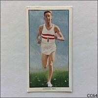 Radio Fun Card British Sports Stars 1956 #2 Gordon Pirie (CC64)