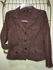 ALC Brown Pink Jacket Blazer Top Women's M 8-10