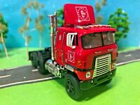 International Transtar, Cab Over, CW Transport, DCP 1/64, Candy Apple Red, New!