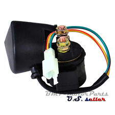 Starter Solenoid Relay 50cc 110cc 125cc 150cc 250cc Moped Bike ATV Quad Dirt GY6