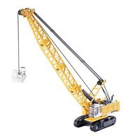 KDW 1/87 Scale Die-Cast Digging Cable Crane Excavator Alloy Construction Toy New