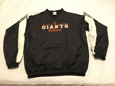 Adidas SAN FRANCISCO GIANTS WINDBREAKER JACKET MLB  XL Pullover Pockets