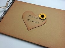 Retirement Gift For A Teacher Happy Times Sunflower Memory Book Scrapbook
