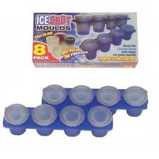 8 Pack Ice Shot Moulds Shot Glasses Party Supplies