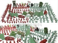 240 pcs Military Playset Plastic Toy Soldiers Army Men 4cm Figures & Accessories