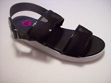 NWOB DOLLHOUSE Black Casual 2-Band Sandals US Sz 8.5M