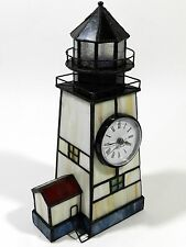Stained Glass Lighthouse Clock Seth Thomas