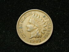 SUMMER SALE!! XF 1903 INDIAN HEAD CENT PENNY w/ DIAMONDS & FULL LIBERTY #92s