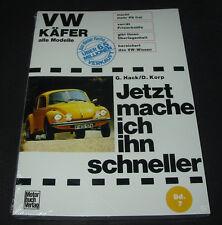 Tuninganleitung VW Käfer Typ 1 alle Modelle Jetzt mache ich ihn schneller NEU!