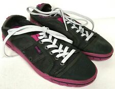 TEVA Fuse Ion Gray Purple Lace Up Women's Sneakers Lace Up Shoes Sz 6.5