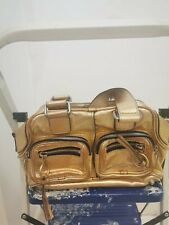 Womens Genuine Chloe Gold Hand Bag