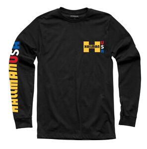 Thor-Hallman Big H Long Sleeve T-Shirt (Black) M (Medium)