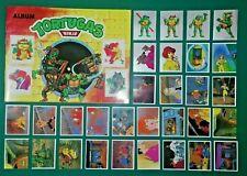 Teenage Mutant Ninja Turtle - Album Reedition Full Set  Navarrete TMNT PERU 2021