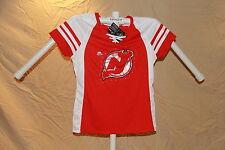 New Jersey Devils MAGIC MOMENT Fan Fashion JERSEY/Shirt MAJESTIC Womens Large