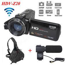 ORDRO HDV-Z20 1080P WIFI Digital Video Camera Camcorder + Camera Bag Waterproof