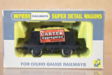 WRENN W5025 CARTER AGGREGATES DONCASTER SAND LOAD HOPPER WAGON 7 MINT BOXED ni