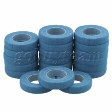 1x500cm Cotton Guzheng Lute Guitar Adhesive Finger Tapes Blue Pack of 20
